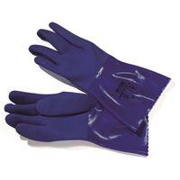 paire de gants telblue l800 professionnels en pvc bleu taille 8 achat vente gants de cuisine. Black Bedroom Furniture Sets. Home Design Ideas