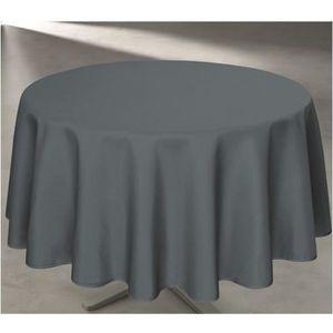 nappe ronde anti tache 160 achat vente pas cher. Black Bedroom Furniture Sets. Home Design Ideas