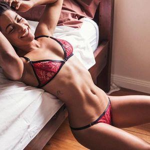 Nuisette - Déshabillé Ensemble de lingerie sexy femme dentelle