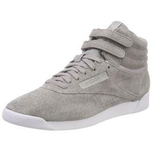 online store 94715 85116 T-SHIRT REEBOK Fs Salut Nbk Chaussures Fitness Femme, Beig