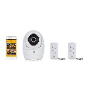 CAMÉRA DE SURVEILLANCE KODAK Pack Caméra Full HD IP101WG+ 2 télécommandes