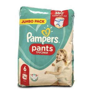 COUCHE 352 COUCHES-CULOTTES PAMPERS PANTS taille 6