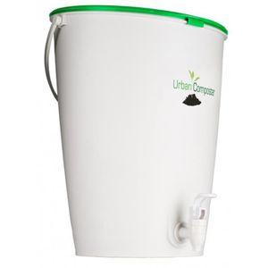 COMPOSTEUR - ACCESSOIRE Kit URBAN Composteur 15 LITRES coloris Vert, H 41