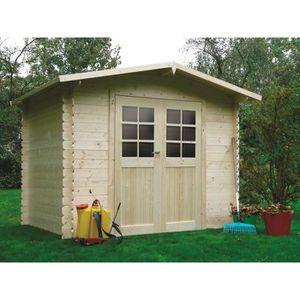 Abri de jardin en bois 5 m2 - Achat / Vente pas cher