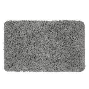 TAPIS CACHOU Tapis 100% polyester - 50x80 cm - Gris - To