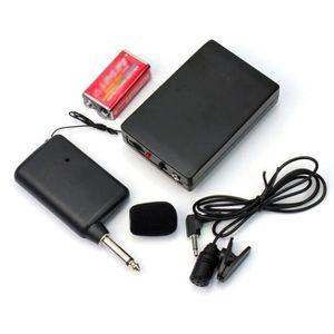 CASQUE AVEC MICROPHONE émetteur de microphone récepteur sans fils micro