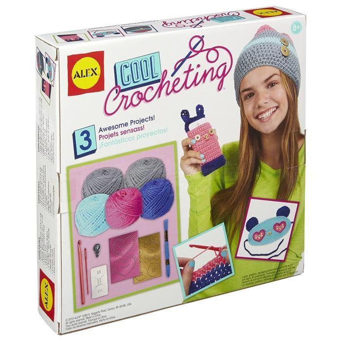 ALEX Mes créations au crochers