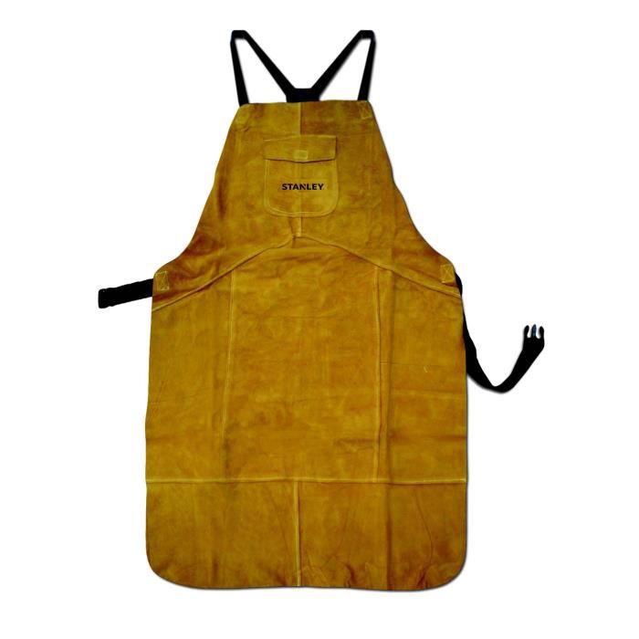 STANLEY 460402 Tablier de protection en cuir