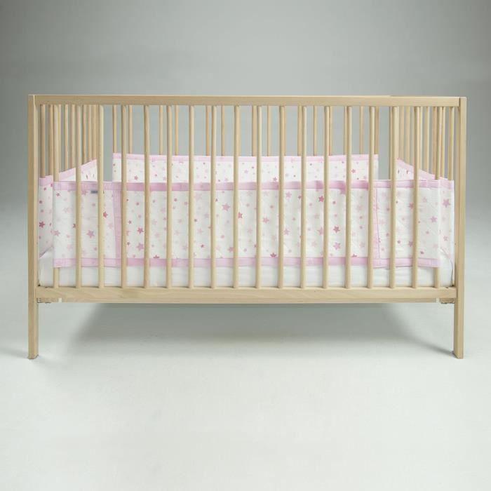 tour de lit pour fille achat vente pas cher. Black Bedroom Furniture Sets. Home Design Ideas