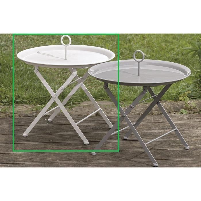 Table D Appoint Table Basse En Metal Table Pliante En Metal