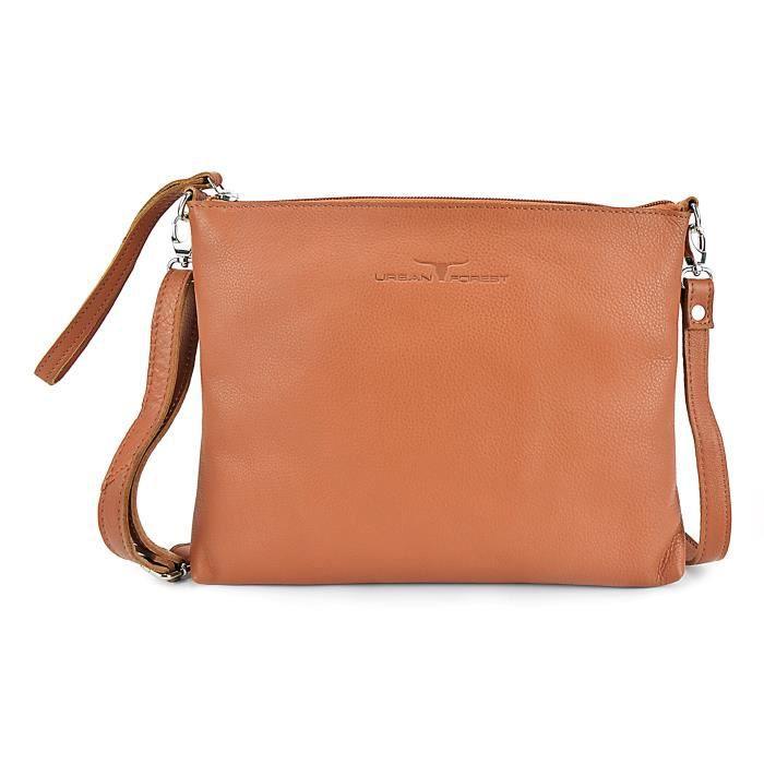 Claire femme en cuir véritable sac à bandoulière pour les femmes JK3B6