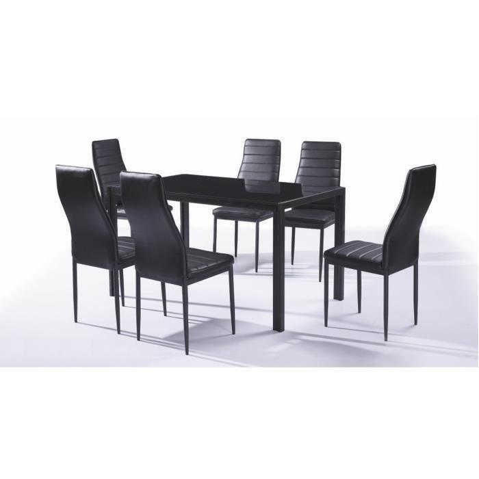 Ensemble Table Et Chaise En Verre De Cuisine