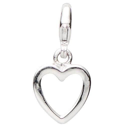 Basic Silber - Basique Argent 22.VX130 Femmes Charms Coeur Argent Réf 43652