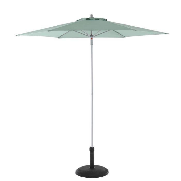 PARASOL Parasol droit Anzio - Diam. 230 cm - Vert céladon