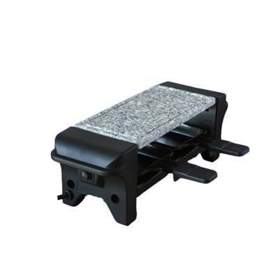 kitchen chef gr102s appareil raclette 2 personnes noir achat vente appareil raclette. Black Bedroom Furniture Sets. Home Design Ideas
