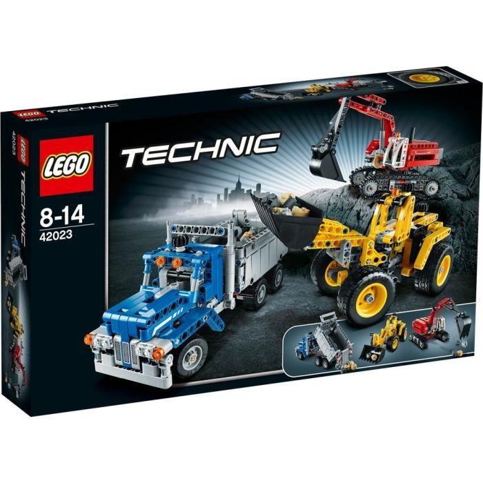 Lego 174 Technic 42023 L Equipe De Construction Achat