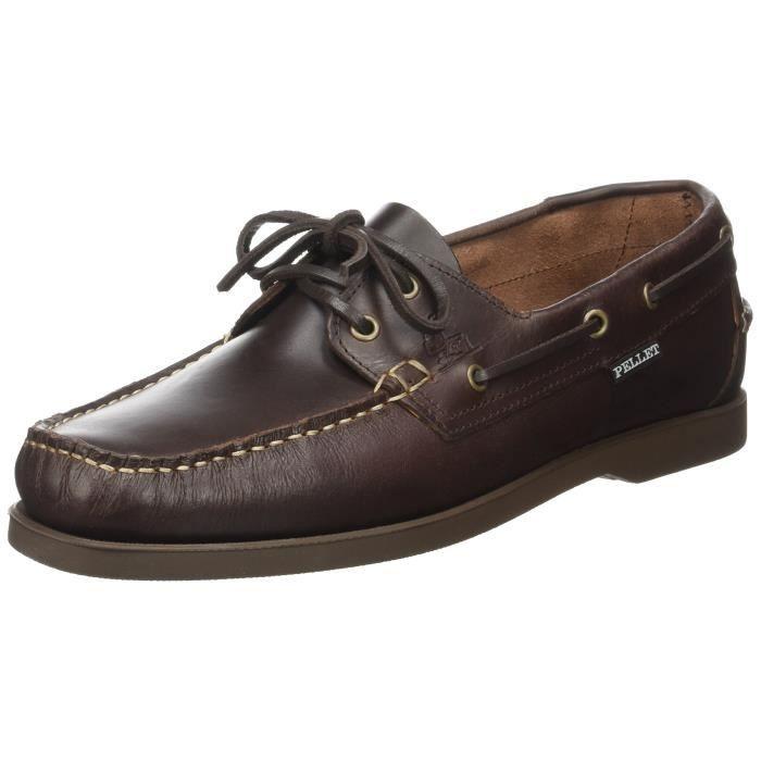 Pellet Tropic E17, Chaussures bateau homme T1OHY Noir Noir - Achat ... 45e05a83cfb6