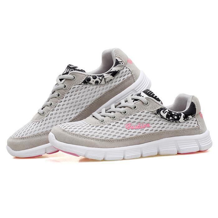 739bcc8a24 Cours Chaussures Femme De Mode Cher Basket Pas D'exécution Réseau En  UX7qvPnw