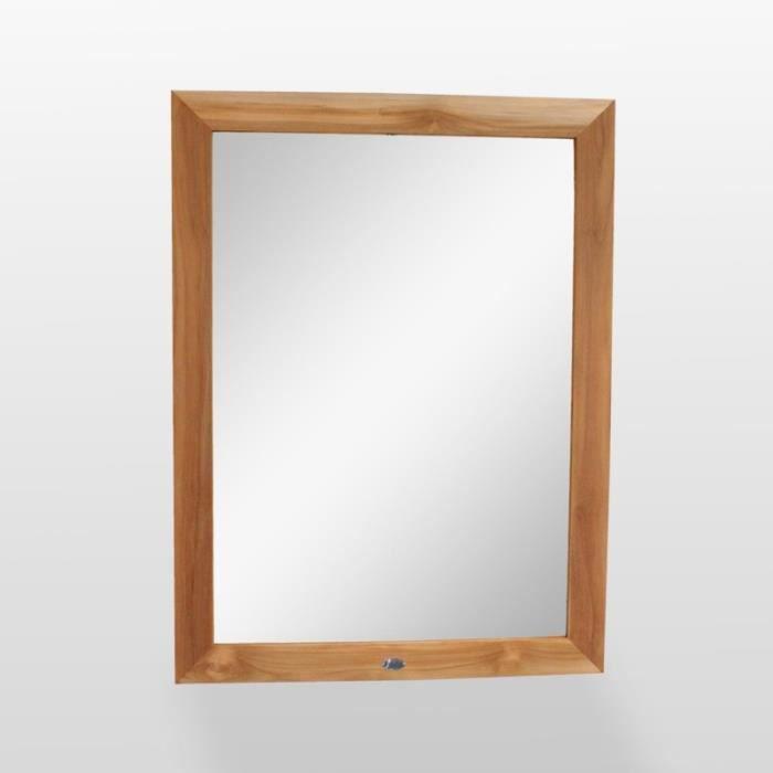 Miroir de salle de bain,teck 120x90 cm, Alto 95,000000 Clair - Achat ...