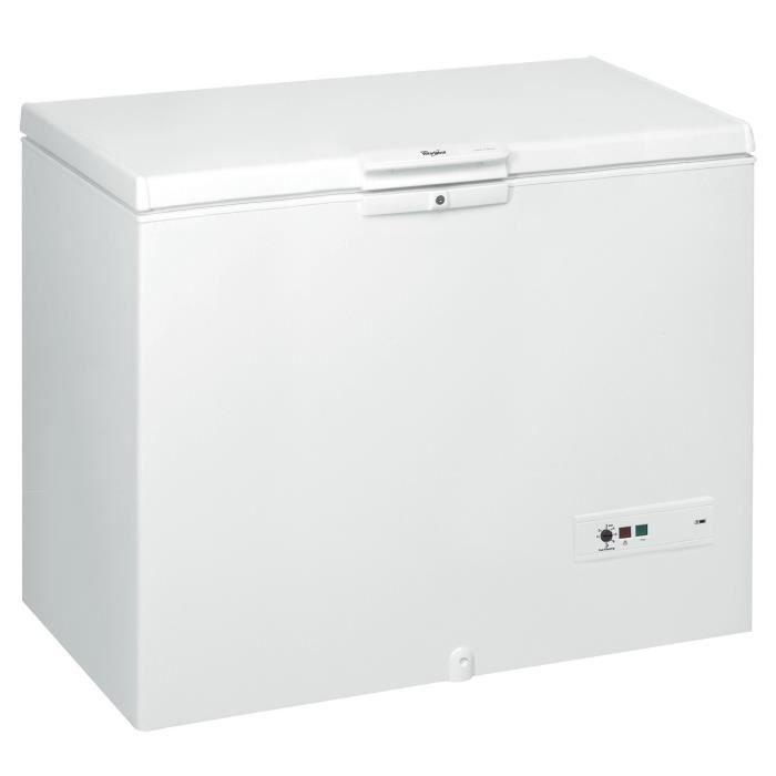 CONGÉLATEUR COFFRE Congélateur Coffre WHIRLPOOL WHM4611 blanc