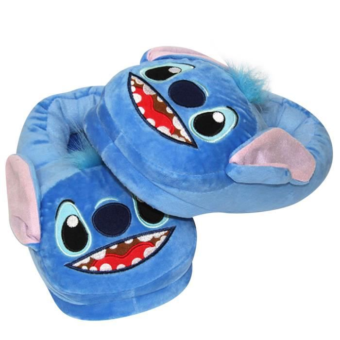 Bleu Homme Pantoufles En Hiver Bjyg Femme xz159bleu39 Populaire Monstre Peluche wHqHvt