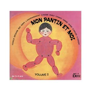 CD COMPTINES - ENFANTS CD Mon Pantin et moi Vol 2 - (Livret inclus)