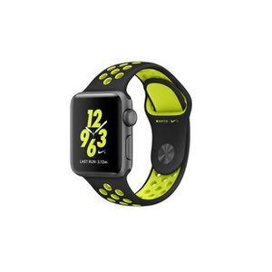 MONTRE CONNECTÉE Apple Watch Nike+ 38mm noir-Volt Sport Band (082)
