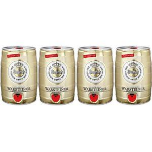 BIÈRE WARSTEINER Premium Verum bière allemande 4 x 5l Ba