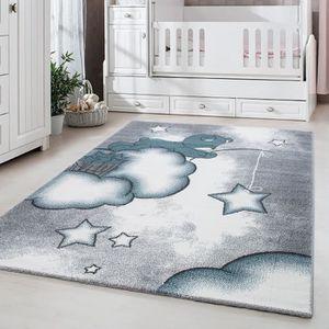 Tapis enfant chambre enfant chambre bébé Ours mignon avec étoile ...