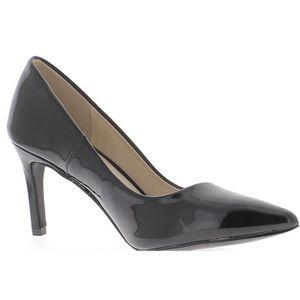 10187b69c46 ESCARPIN Escarpins noirs vernis talons stilettos de 8cm - C
