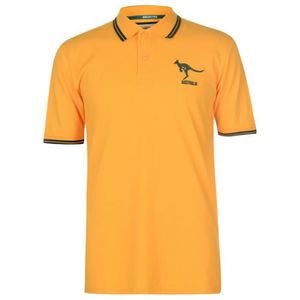 MAILLOT DE RUGBY Team Australia Rugby Homme Polo T-Shirt De Rugby M d90711c1805b