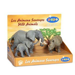 FIGURINE - PERSONNAGE Animaux sauvages - Coffret