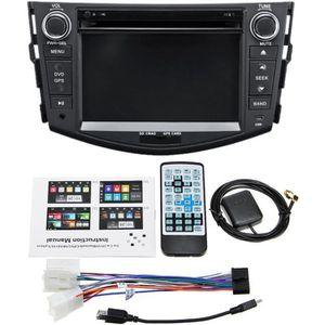"""AUTORADIO TEMPSA 7 """"2 din Autoradio DVD 3G GPS NAV Blue"""