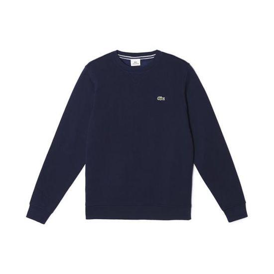 Sweatshirt Sh7613 Bleu Uni Col 166 Rond Marine Lacoste rwHrIq d7e87d099f8