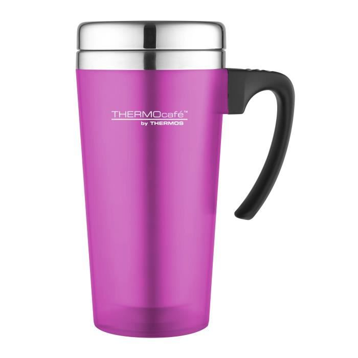 Travel Mug Touch Rose Thermos Soft Isotherme 420ml BoCeWrdx