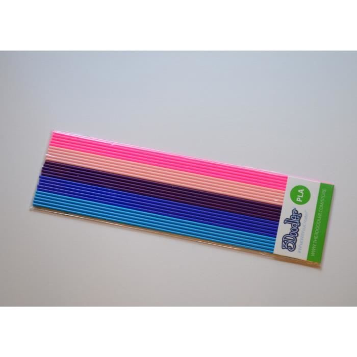 """FIL POUR IMPRIMANTE 3D 3Doodler Cartouche de filament PLA """"Bubble Gum"""""""