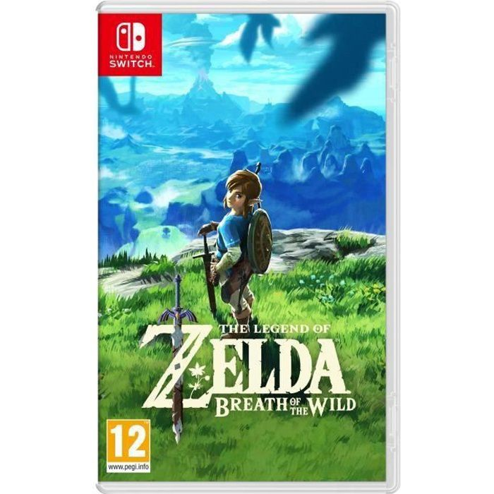The Legend of Zelda : Breath of the Wild Jeu Switch