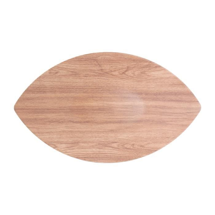 AERTS Plat pour buffet - 44,5 x 25 x 3 cm - Forme feuille