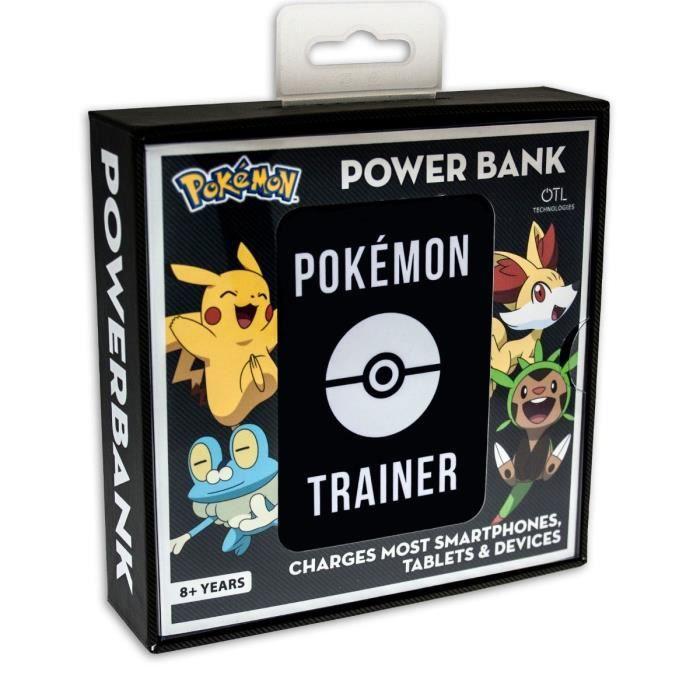 Batterie Externe 5000 MaH Pokémon Trainer OTL pour smartphones et manettes micro USB
