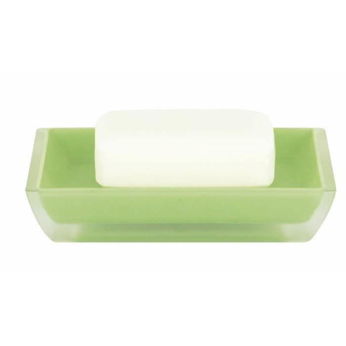 SPIRELLA Porte savon Freddo - 2,3x12,5x2,3cm - Vert clair
