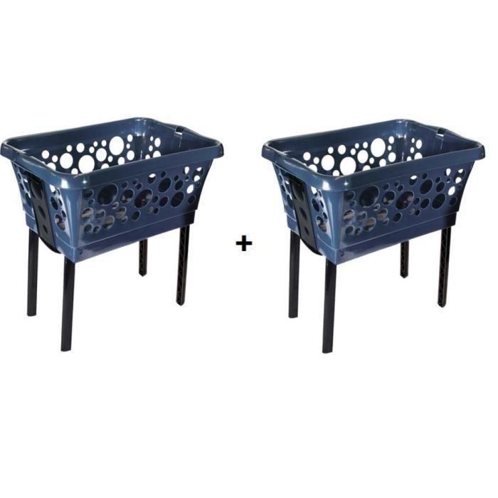 panier a linge en plastique achat vente pas cher. Black Bedroom Furniture Sets. Home Design Ideas