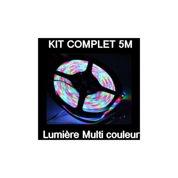 ruban led rgb 5050 kit complet- 60led/m – ip65