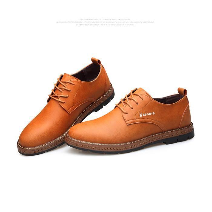 36b06d3e327271 Chaussures Hommes Cuir Confortable mode Homme chaussure de ville ...