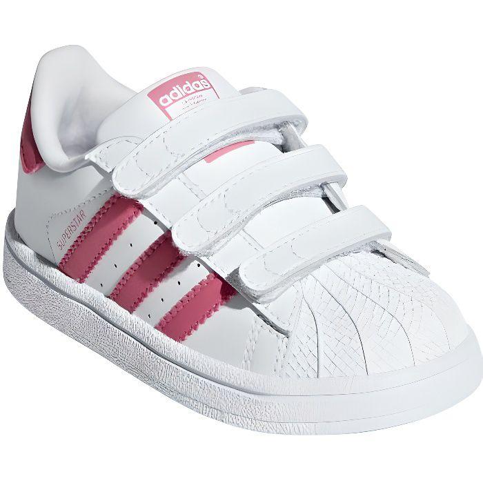 adidas superstar blanche rose