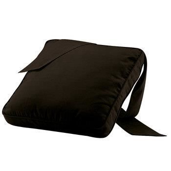 galette de chaise trap ze noir achat vente coussin de chaise cdiscount. Black Bedroom Furniture Sets. Home Design Ideas