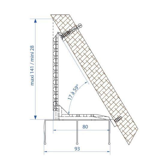 Kit De Fixation Sous Pente Achat Vente Porte Coulissante Kit De