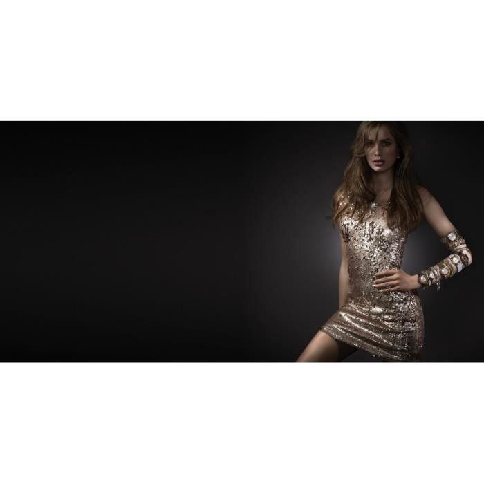 LOTUS - LOTUS LS1775-2-1 Femmes Bracelet Acier inoxydable Argent21 cm Réf 54554