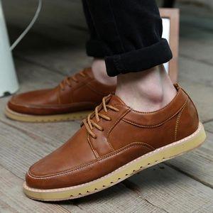 Chaussures pour homme Vintage Croisement de haute qualité Chaussures Handsome de Derby 7773388 h1sKkJg9a