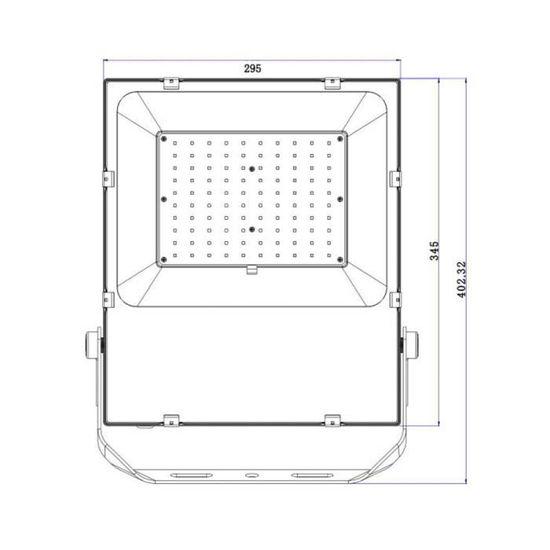 100w Neutre 4000k Slim Blanc 4500k Projecteur Led UMpzVS