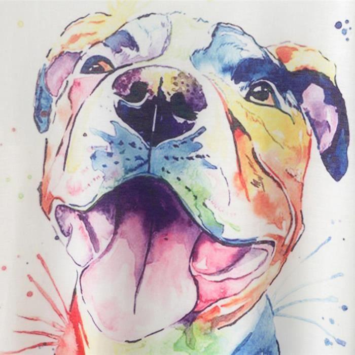 Manches Géométrique Multicolore shirt Vrac T À Mode Courtes Chemisier Animal cou D'impression Femmes O En 0F1f6